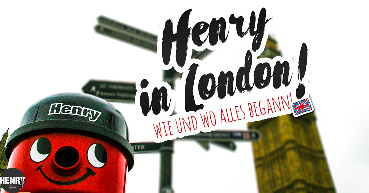 Henry der Staubsauger - die Nr.1 aus England